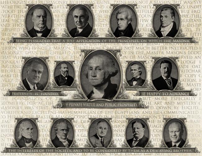 freemason presidents, masonic presidents