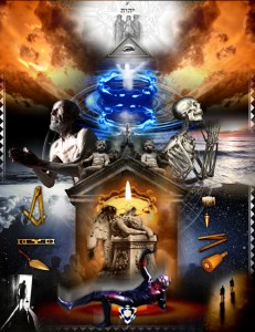 Third Degree, Masonic, Tracing Board, freemasonry, hiram abiff, art
