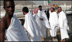 Muslims Wearing Ihraam