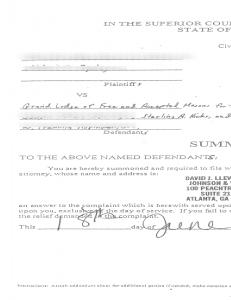 legal filing, documents