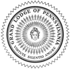 grand lodge of Pennsylvania seal