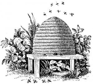 bee, hive, masonic symbol, activity, freemasonry