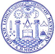 Kentucky Grand Lodge Seal