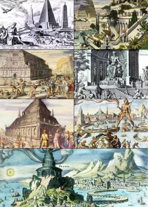 7 wonders, wonders in antiquity