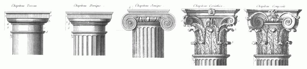Architecture, pillars, masonic symbol