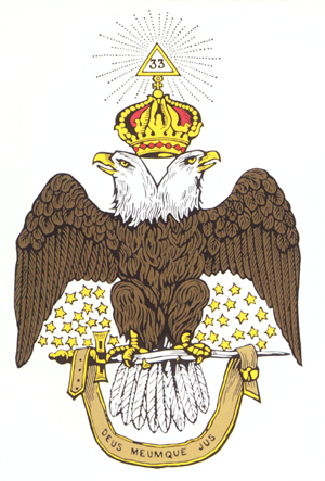 Scottish Rite, Rte, eagle