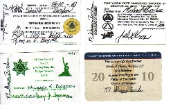 mailing labels, dues cards, membership card, how to make membership cards