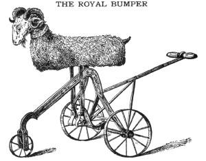 riding the goat, goat ride, prank, hazing