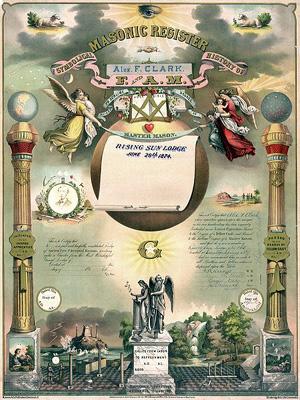 register, masonic paper, freemason history