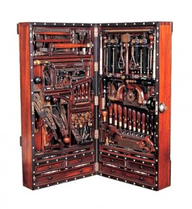 masonic working tools, freemason tool box, american craftsman ship