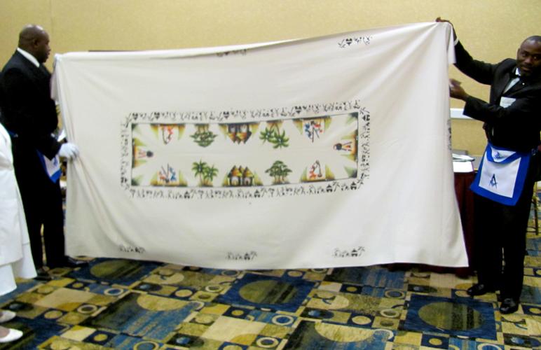 gift, tablecloth, presentation