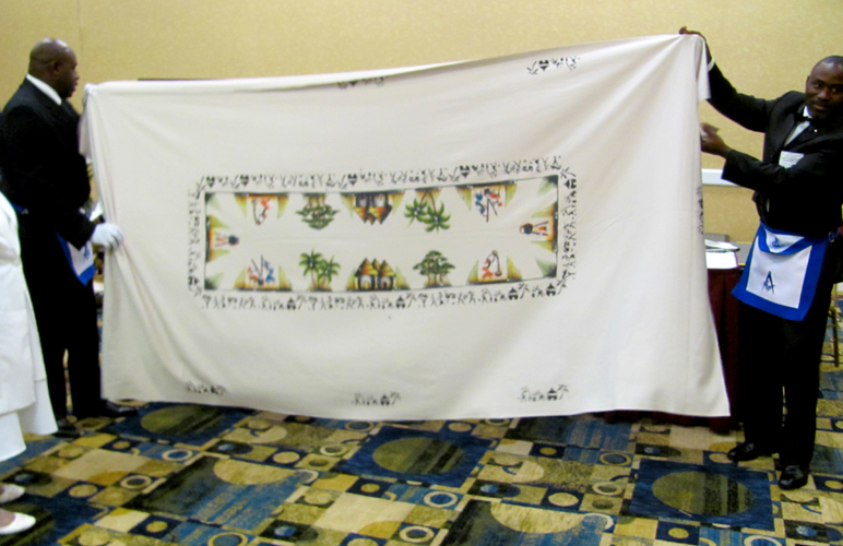 gift, tablecloth, presentation