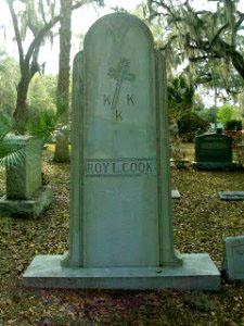 Roy L. Cook, Klansman and Mason