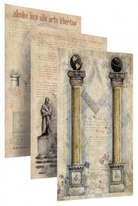 masonic art, prints, codex, ryan flynn