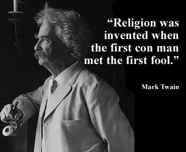 mark twain on religion