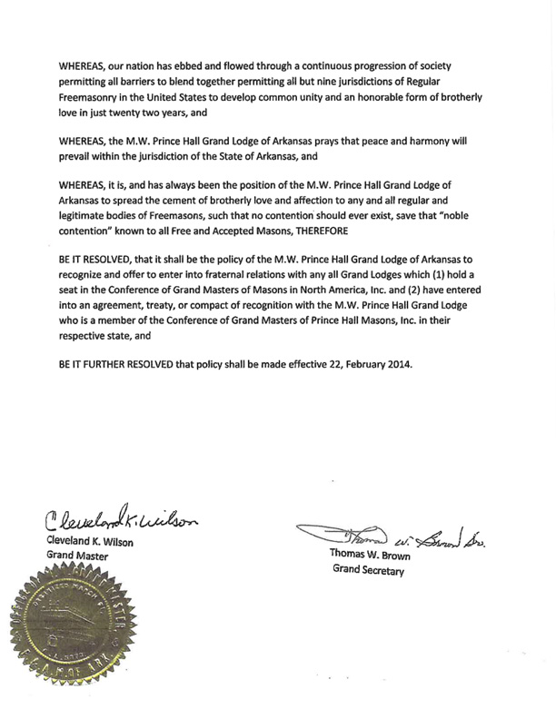 Arkansas Prince Hall Recognition page 4