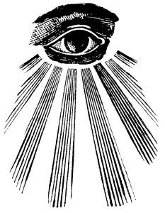 masonic symbol, all-seeing eye, masonic eye, eye in the sky, gods eye, occult eye, freemasonry, god