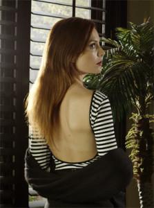 Actress Alex McKenna as Rana Burkhalter