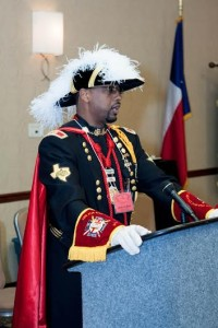 Sir Ronald D. Gerac, M.Ed. Right Eminent Grand Commander Lone Star Grand Commandery Order of the Knights Templar