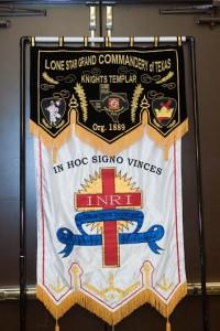Templar standard flag