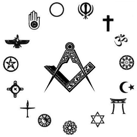 religious symbols, faith, square and compass, freemason information