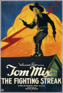 Tom Mix in The Fighting Streak - 1922