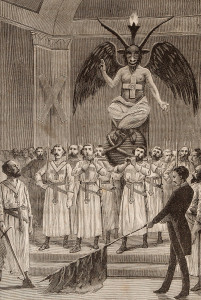 Baphomet as imagines in the Taxil Hoax