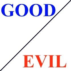 good, evil, triumph