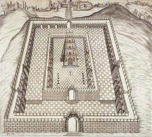 Samuel Lee depiction of Solomons Temple