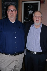 L- Greg Stewart and R- Frederic L. Milliken