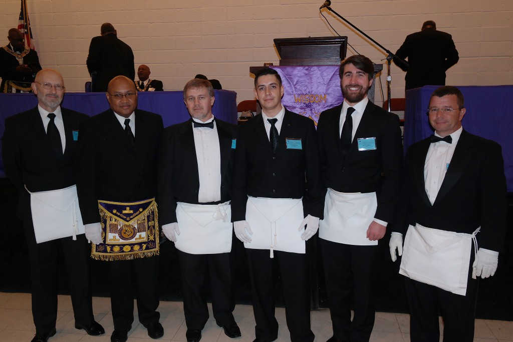 PM Michael Huskisson 1283, GM Wilbert M. Curtis, Eric Brewer 1283, David Villegas 1283, David Bindel 1283, Rick Parker 1218