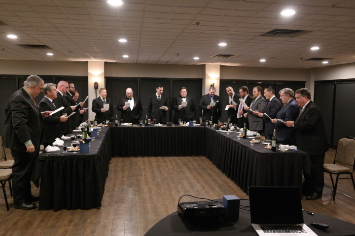 Lodge Veritas No 556 Singing