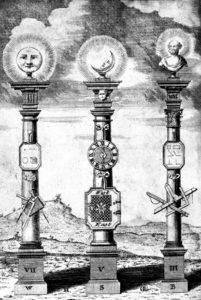 masonic pillars, degrees of Freemasonry, Masonic Symbols