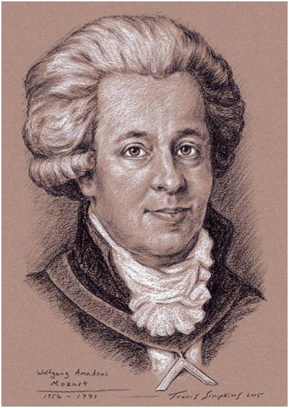 Wolfgang Amadeus Mozart. Freemason and Composer of Masonic Music, by Travis Simpkins