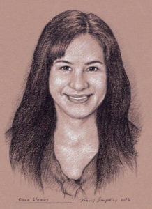 Elena Llamas, Director of Public Relations for The Phoenixmasonry Masonic Museum and Library. Portrait by Travis Simpkins.