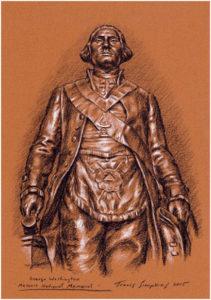 George Washington, illustration, art