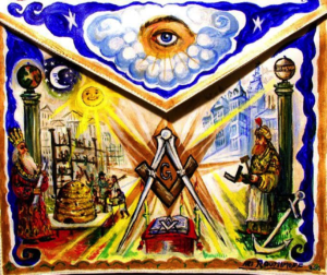 Ari Roussimoff, apron, art, Freemasonry