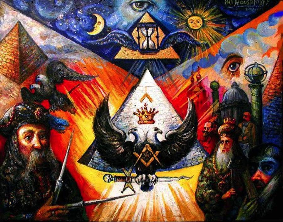 The Art, Masonic Aprons, and Magic of Ari Roussimoff