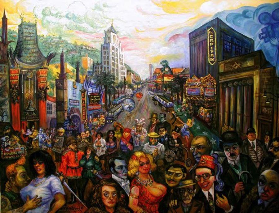 Ari Roussimoff, Hollywood, art