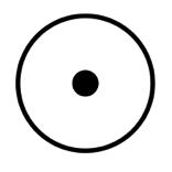 pwc, symbol for gold, dot in a circle, freemasonry