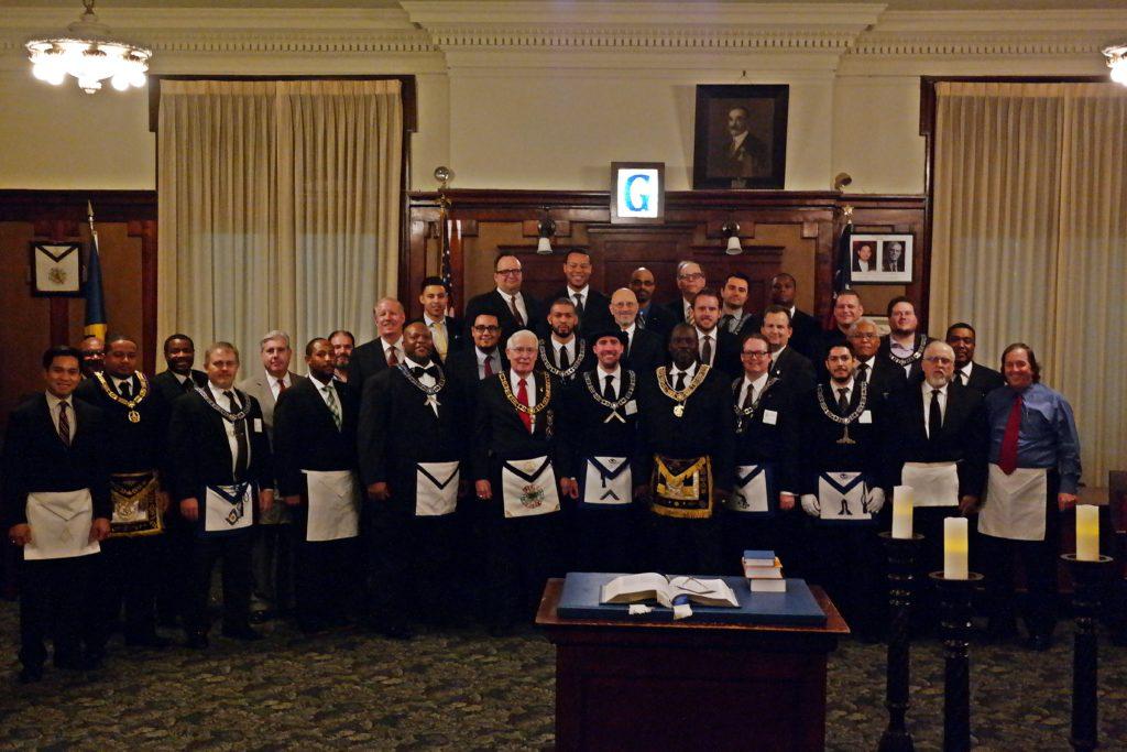 Brethren Who Gathered At Jewel P. Lightfoot Lodge