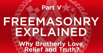 What is brotherly love in Freemasonry?