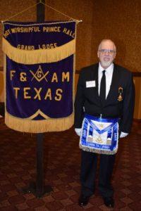 Grand Lodge, Frederic L. Milliken, masonic banner