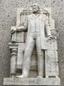 statue, Scottish Rite, Albert Stewart, Los Angeles