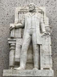 statue, Scottish Rite, Albert Stewart, Los Angeles