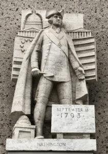 George Washington, statue, Los Nageles, Freemasonry