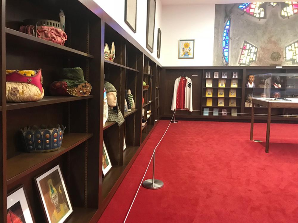 relics, Freemasonry, Scottish Rite, hats, Los Angeles