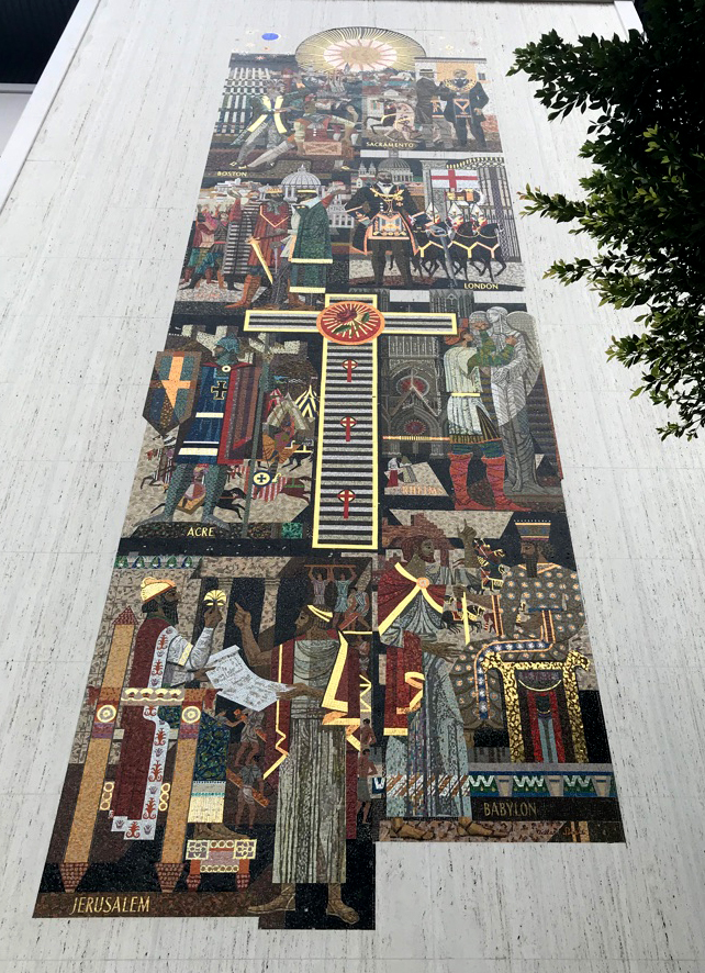 Millard Sheets, mosaic, Los Angeles, Scottish Rite