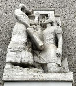 Hiram Abif, statue, Los Angeles, Albert Stewart, Los ANgeles