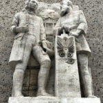 statue, temple, Los Angeles, Freemasonry